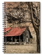 Old Mountain Cabin Spiral Notebook