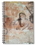 Old Mural Painting In The Ruins Of The Church Spiral Notebook