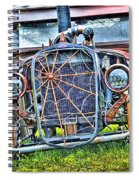 Old Muscle Car Spiral Notebook