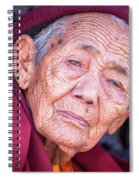 Marks Of Life Spiral Notebook