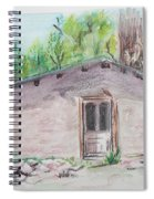 Old New Mexico House Spiral Notebook