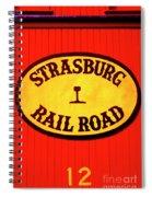 Old Number 12 Spiral Notebook
