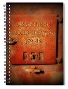 Old Number 16 Spiral Notebook