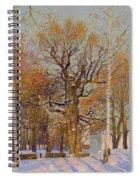 Old Oak-tree In Kolomenskoye Spiral Notebook