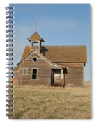 Old One Room School House Spiral Notebook