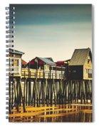 Old Orchard Beach Pier Spiral Notebook