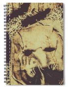 Old Outback Horrors Spiral Notebook