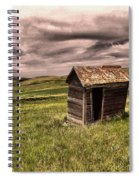 Old Outhouses Spiral Notebook