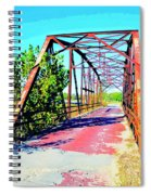 Old Ozark Trail Bridge Spiral Notebook