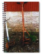 Old Pals Out To Pasture Spiral Notebook