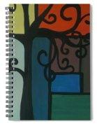 Old Pattern Spiral Notebook