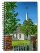 Old Peace Chapel Defiance Mo 7r2_dsc6739_04252017 Spiral Notebook