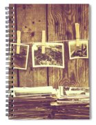Old Photo Archive Spiral Notebook