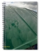Old Pickup Truck Hood Spiral Notebook