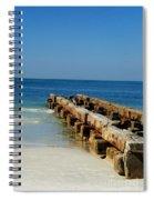 Old Pier Spiral Notebook
