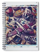 Old Plane And Other Toys Spiral Notebook