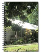 Old Plantation House Spiral Notebook