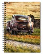 Old Plymouth Spiral Notebook