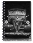 Old Plymouth Truck Square Spiral Notebook