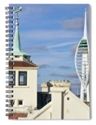 Old Portsmouth's Towers Spiral Notebook