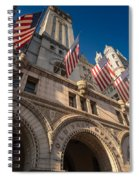 Old Post Office Washington D C Spiral Notebook