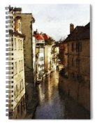 Old Prague Spiral Notebook