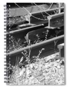 Old Rails Spiral Notebook
