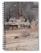 Old Ranch House Spiral Notebook