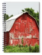Old Red Barn Johnson County Ia Spiral Notebook