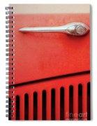 Old Red Car Spiral Notebook