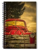 Old Red Truck Spiral Notebook