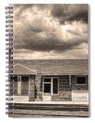 Old Rio Grande Train Stop Spiral Notebook