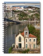 Old Riverside Church In Portugal Spiral Notebook
