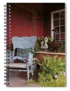 Old Rockin' Chair Spiral Notebook