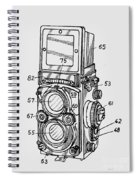 Old Rollie Vintage Camera T-shirt Spiral Notebook