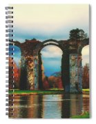 Old Roman Aqueduct Spiral Notebook