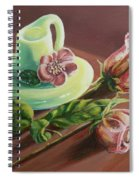 Old Roses Never Die Spiral Notebook