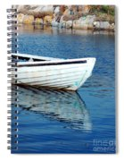 Old Row Boat Spiral Notebook