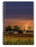 Old Rte 66 Lightning 8 48 16 P Spiral Notebook