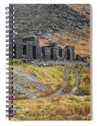 Old Ruin At Cwmorthin Spiral Notebook