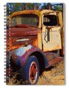 Old Rusting Flatbed Truck Spiral Notebook