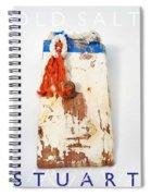 Old Salt Spiral Notebook