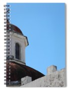 Old San Juan Puerto Rico Downtown Church Spiral Notebook