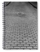 Old San Juan Puerto Rico Downtown Early Morning Spiral Notebook