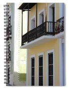 Old San Juan Puerto Rico Downtown  Spiral Notebook