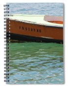 Old San Juan Puerto Rico Local Boats Spiral Notebook