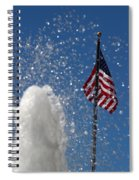 Old San Juan Puerto Rico Old Glory Spiral Notebook