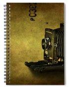 Old School Spiral Notebook