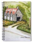 Old Scottish Stone Barn Spiral Notebook