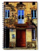 Old Semidetached Houses Spiral Notebook